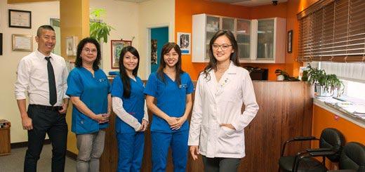 Dr. Jenny Zhu and her team at Manhattan Bridge Orthodontics