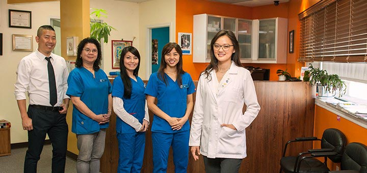 Dr. Jenny Zhu and her team at Manhattan Bridge Orthodontics